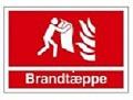 Brandtæppe 3752 nyt skilt