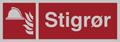 3633 Stigrør skilt stor